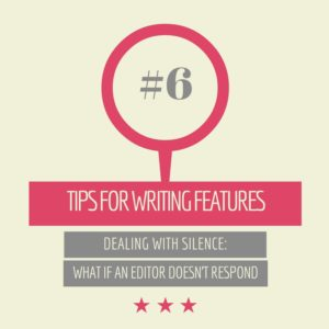 tips for freelance writers #6: silence