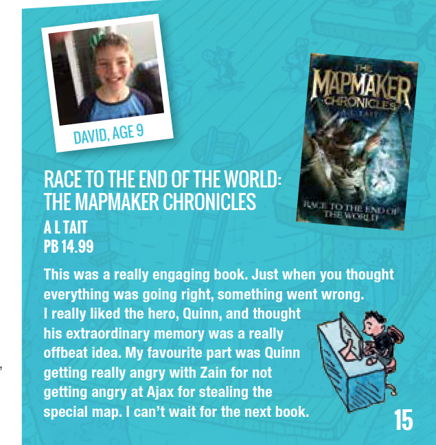 The Mapmaker Chronicles Review, Kids' Reading Guide