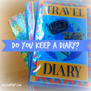 diaries for writers