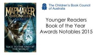 CBCA Awards 2015 The Mapmaker Chronicles