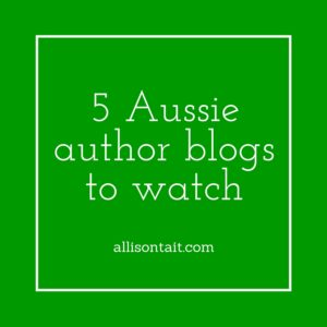 5 Aussie author blogs to watch