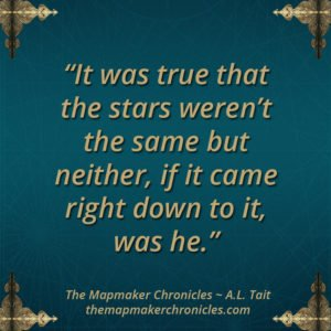 The Mapmaker Chronicles image quote A. L. Tait
