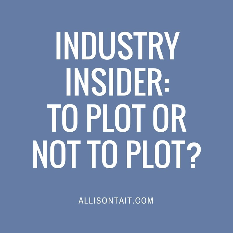 Industry Insider: To plot or not to plot?