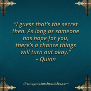 The Mapmaker Chronicles #2 quote