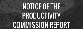Why you need to take notice of the Productivity Commission report
