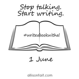 stop talking start writing