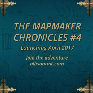 Announcing The Mapmaker Chronicles #4 A.L. Tait