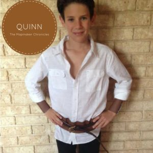 Quinn The Mapmaker Chronicles Book Week Costume