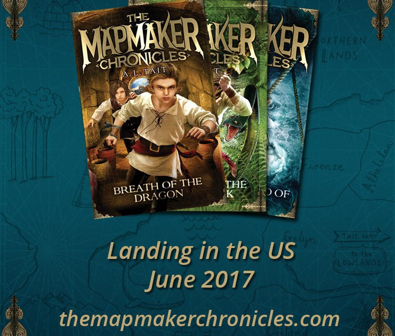 The Mapmaker Chronicles: landing in the US, June 2017.