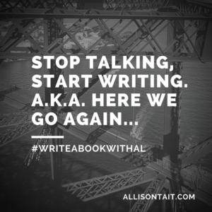 #WRITEABOOKWITHAL