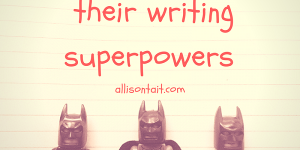 helping kids find their writing superpowers