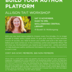 Build your author platform with me!