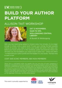 Build Your Author Platform Workshop With Allison Tait
