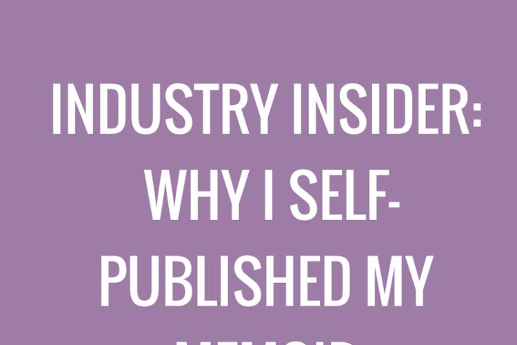 Why I self-published my memoir