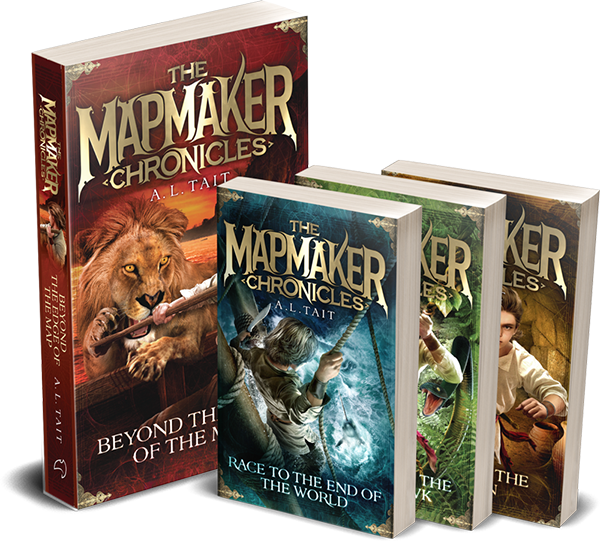 Books by allison tait allison tait the mapmaker chronicles gumiabroncs Gallery
