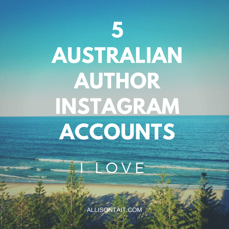 5 Australian author Instagram accounts I love