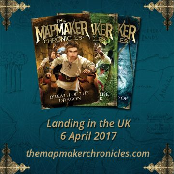 The bestselling Mapmaker Chronicles series, available in the UK from 6 April, 2017