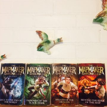 The Mapmaker Chronicles series. Book #4 on sale 29 March.