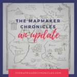 The Mapmaker Chronicles website: an update