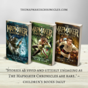 The Mapmaker Chronicles series is now available in the USA and Canada through Kane Miller. For kids 9-13 years. Read more and buy here.
