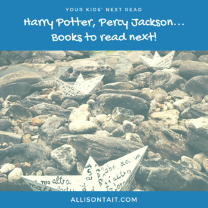 Harry Potter, Percy Jackson, books to read next