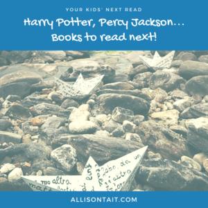Harry Potter, Percy Jackson, books to read next