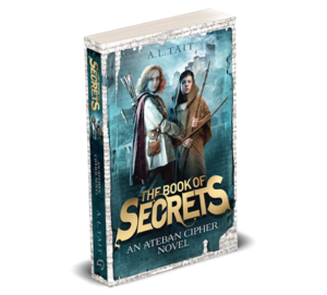 The Book Of Secrets (Ateban Cipher #1) is out now!