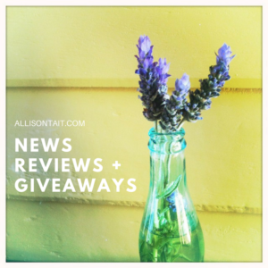 News, Reviews and Book Giveaways at allisontait.com