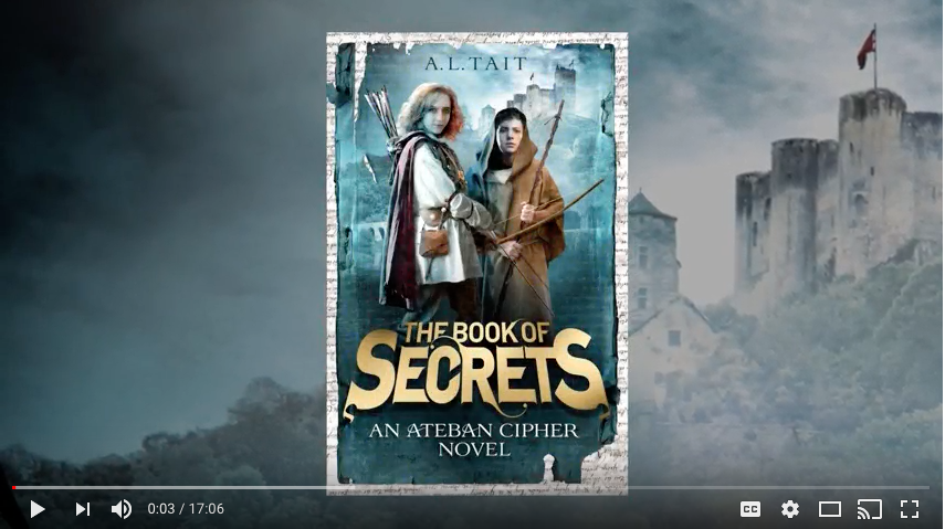 A.L. Tait reads the first chapter of The Book Of Secrets