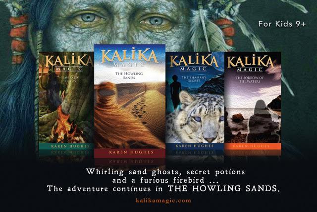 Kalika Magic series for kids 9+ by Karen Hughes