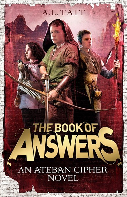 Cover reveal! The Book Of Answers (Ateban Cipher #2) by A.L. Tait