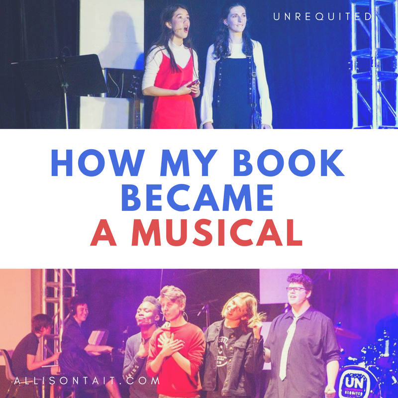 How my book became a musical | allisontait.com