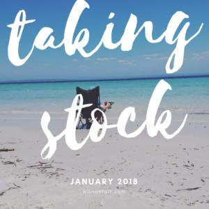 Taking Stock January 2018