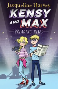 Jacqueline Harvey, author of new series Kensy and Max gives her top 10 writing tips for kids