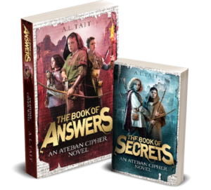 The Ateban Cipher adventure series for kids 9-12 is out now!