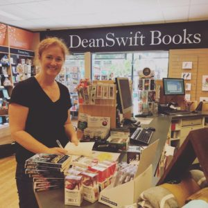 Signed copies of The Book Of Answers at Dean Swift Books Nowra