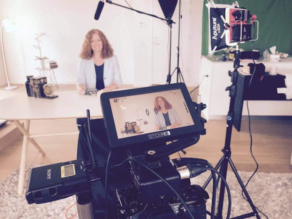 Filming the Creative Writing for Kids course Australian Writers' Centre