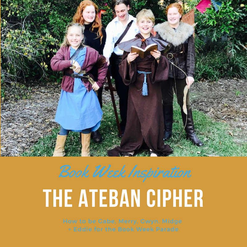 Book Week Inspiration The Ateban Cipher