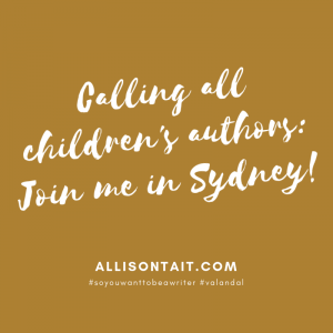 Presenters at the 2019 SCBWI Sydney Conference | allisontait.com