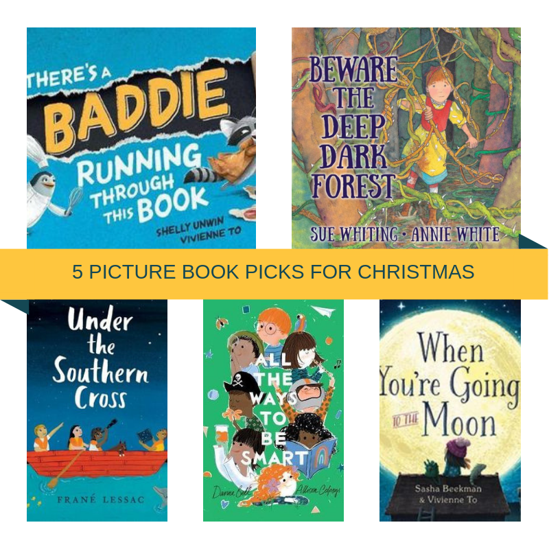 5 PICTURE BOOK PICKS FOR CHRISTMAS | allisontait.com