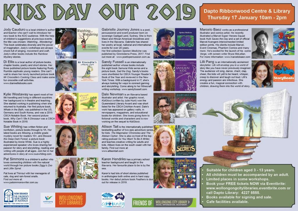 Program Kids Day Out Dapto January 2019   allisontait.com