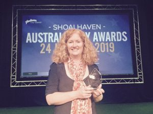 Allison Tait Australia Day Awards