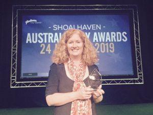 Allison Tait Australia Day Awards