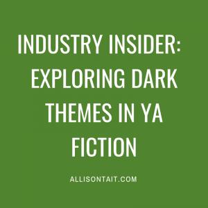 Exploring dark themes in YA fiction