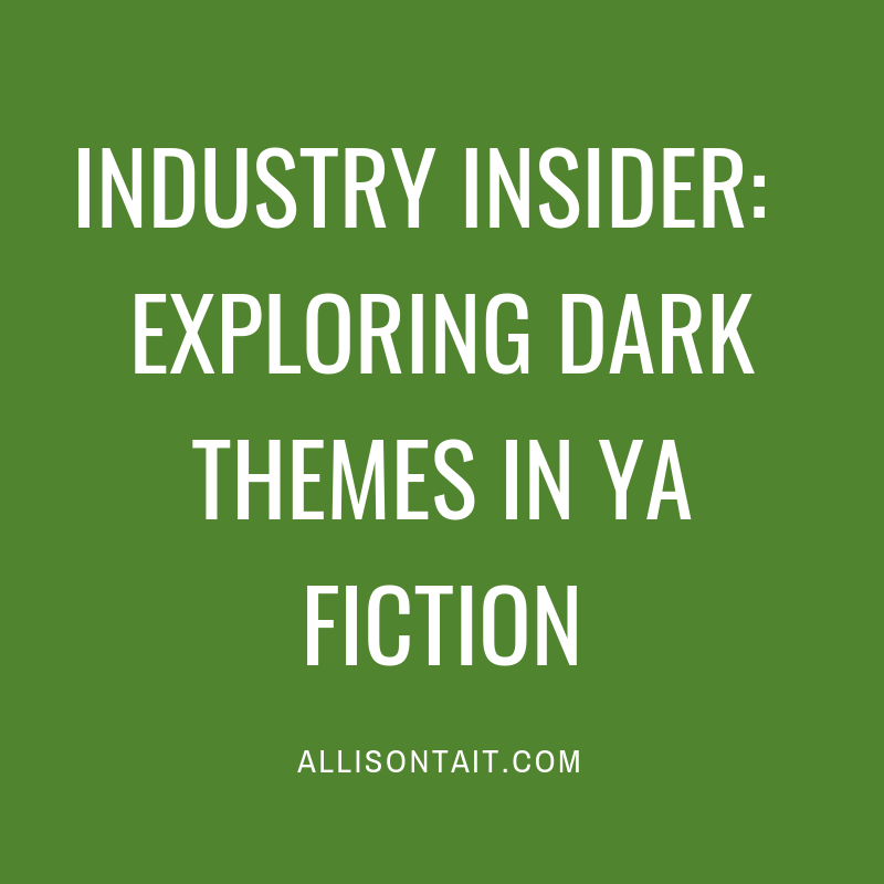 Industry Insider: Exploring dark themes in YA fiction