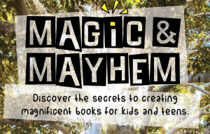 New: Magic & Mayhem podcast series, all about writing for children and YA | allisontait.com