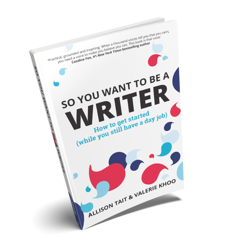 Meet 'So You Want To Be A Writer' the BOOK