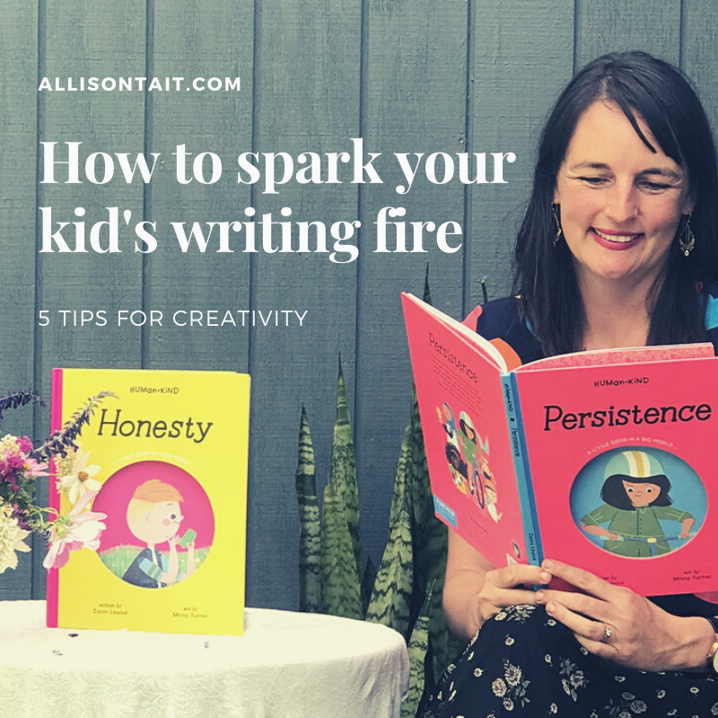 How to spark your kid's writing fire