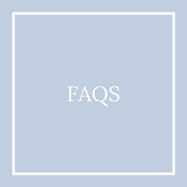FAQ tile light blue
