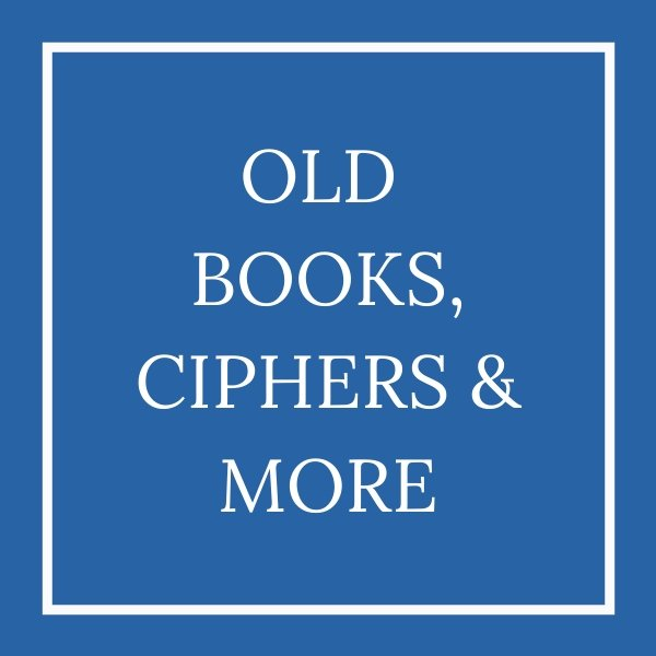 old books, ciphers and more tile